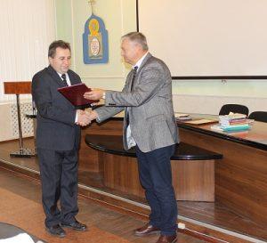 Вручення нагород науково-педагогічним працівникам кафедри